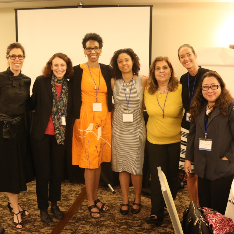 Sharing initiatives of ATLAS and VF Foundation against Human Trafficking at the EF Women's Conference in Miami, Florida last 2016
