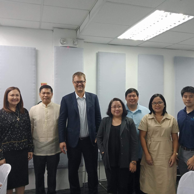 With BNEFIT Officers at the blessing of the third expansion of Ubiquity Global Services in Bacolod
