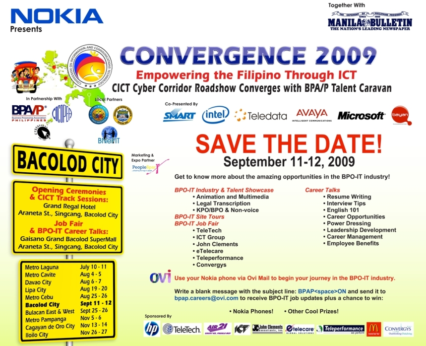 convergence 2009-cict banner