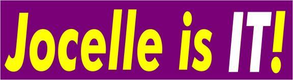 jocelle is it