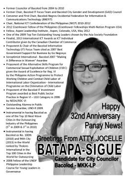 panay news greetings